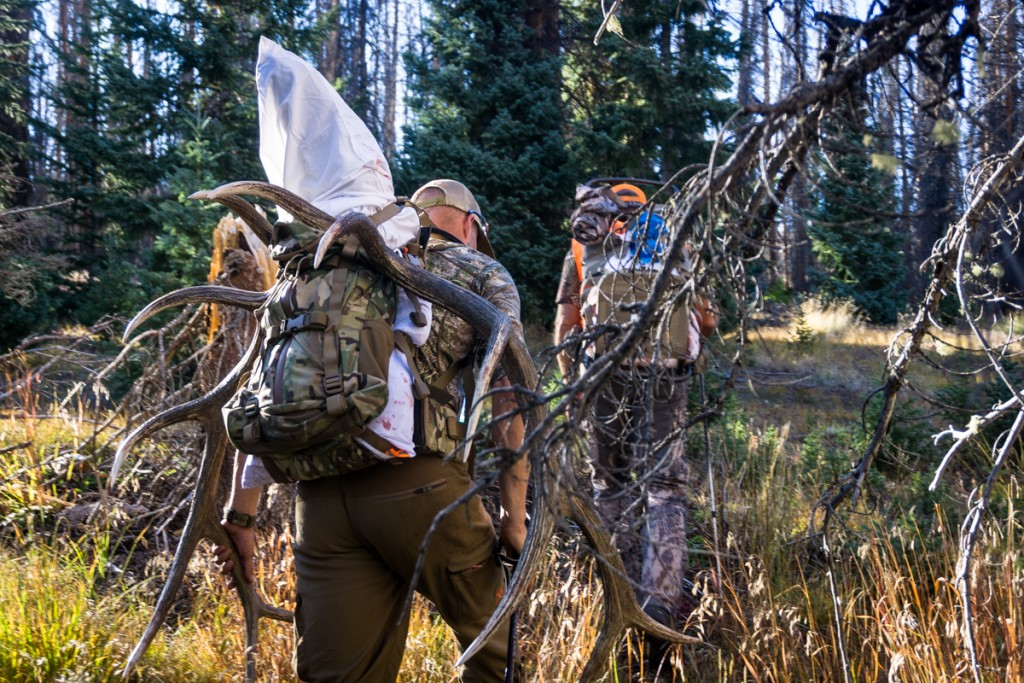 Daypack for big game hunting