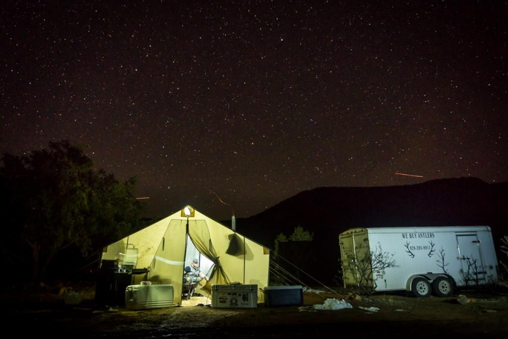Hunting Camp in Arizona
